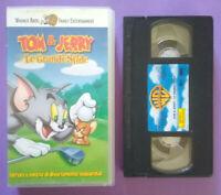 VHS Film Ita Animazione TOM & JERRY Le Grandi Sfide PIV 65305 no dvd cd lp (V1)