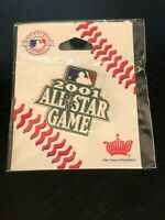 Collectible Vintage 2001 All Star Game Colorful Metal Pinback Lapel Pin Hat Pin