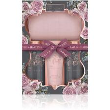 Baylis & Harding Boudoire Midnight Rose Petals Wash Bag 4 Piece Beauty Gift Set