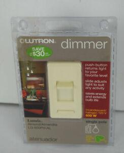 Lutron Dimmer Single Pole