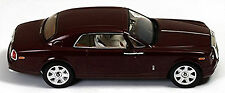 Rolls-Royce Phantom coupè 2008-17 Bordeaux rosso scuro rosso scuro 1:43 Ixo