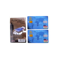 Amazing Floating Credit Card Close Up Magic Prop Trick Magicians Toy Stage Pip