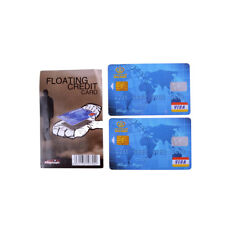 Amazing Floating Credit Card Close Up Magic Prop Trick Magicians Toy Stage Magic