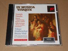 Bruno Weil - Haydn/ Missa Sunt bona mixta malis/Offertorium Non nobis, Domine/CD