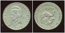 AFARS et ISSAS  100 francs  1975 ( bis )