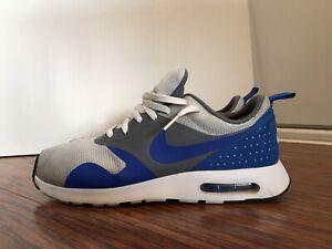 Nike Air Max Tavas, 705149-014, White/Blue, Men's Running Shoes, Size 11.5