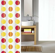 Kleine Wolke Point Multicolor Cortina de ducha 180 x 200 cm. textiles Alta