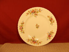 Royal Albert Fine China Moss Rose Montrose Shape Dinner Plate 10 1/2""