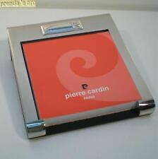 PORTABLOCCO ACCIAIO CON  ARGENTO 925 ARTIGIANATO ITALIANO PIERRE CARDIN 150480