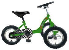 Liliput - Aero  groen 3 wiel skelter met luchtbanden, kogellagers  zeer solide