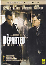 DVD • The Departed il Bene e il Male SCORZESE Di CAPRIO DAMON ITALIANO