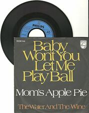 "Mom's Apple Pie, Baby won't you let me play ball, VG/VG, 7"" Single, 1168"
