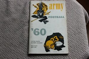 1960 Army (West Point) college football media guide