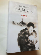 SNOW by ORHAN PAMUK Nobel Prize Winner SIGNED BY AUTHOR PB with DJ 1st Ed  2004