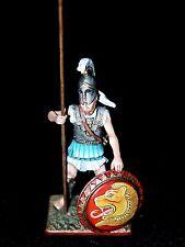 St. Petersburg. Amber Greek Hoplite w/Long Spear & Shield 54mm