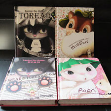"""Toread Cat"" 1pc Planner Agenda Scheduler Hard Cover Journal Study Notebook"
