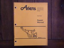 Ariens 932 Series Sno Thro Repair Manual 1987