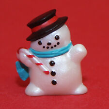 Hallmark Merry Miniatures Christmas 1994 Snowman w/ Candy Cane Qfm8316