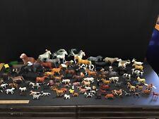 3.5 Lb Lot of Plastic Farm Horse Domestic Animals Toys
