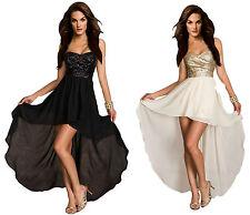 Unbranded Short/Mini Sleeveless Tiered Dresses for Women