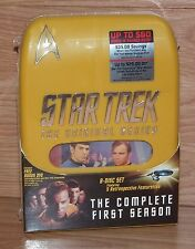 Star Trek: The original Series (8 Disc DVD) The Complete First Season **NEW**
