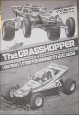 New Tamiya Grass Hopper Assembly Instruction Manual - New From the Kit 1050428