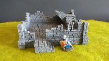 House I Ruins Terrain Warhammer D&D Frostgrave 28mm 40K Fantasy Wargame 25mm RPG