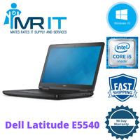 """Dell Latitude E5540 15.6"""" intel i5 - 4300U @1.90GHz 8GB RAM 256GB SSD Win 10 Pro"""