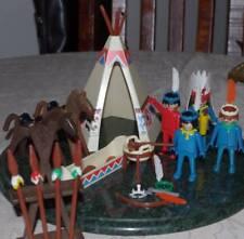 geobra vintage 1970's play set Indian Playmobil