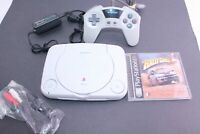 Sony Playstation PS One Video Game Console Bundle With Controller Cables 1 Game