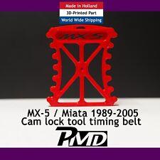 TIMING BELT CAM LOCK CAMSHAFT LOCKING TOOL MAZDA MX5 EUNOS MIATA MK1, 2, 2.5 RED