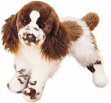 Douglas Toys Plush Oglivy Springer Spaniel Stuffed Dog 16""