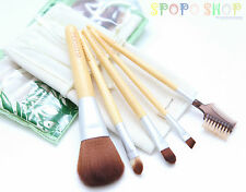 NEW Eco Tools 6 Pieces Bamboo Makeup Brush Set (Earth Friendly Beauty)