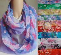 Loop Loopschal Schlauchschal Damenschal Rundschal bunt viele Farben Schal Tuch