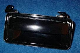 CORSICA 87-90 EXTERIOR OUTSIDE DOOR HANDLE BLACK RIGHT