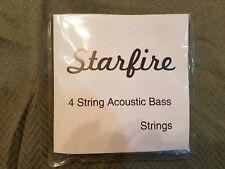 1 set of Starfire Brand by Alice 4 String Acoustic Bass Strings buy more & save