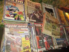 Original Vintage 1994 - 2005 Lot of 528 CYCLE NEWS Magazines Motorcycle Bike 300