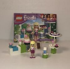 Lego Friends 3930 STEPHANIE'S OUTDOOR BAKERY w/ Manual 100% Complete RETIRED