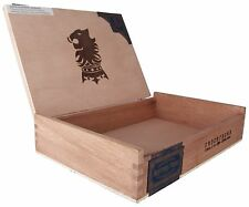 Empty Solid Wood Cigar Box Liga Privada Undercrown 11 1/2 x 7 3/4 x 2 1/2""