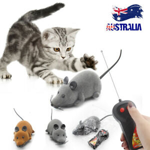 Pet Cat Puppy Toy Wireless Remote Control Electronic Rat Mouse Mice Toys