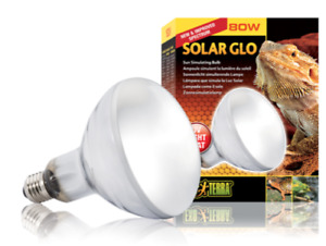 Exo Terra Solar Glo 80 Watt Mercury Vapor UVB Light Globe