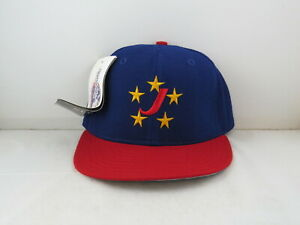 Jackson Generals Hat (VTG) - 1990s Away Pro Model by New Era - Fitted 7 3/8