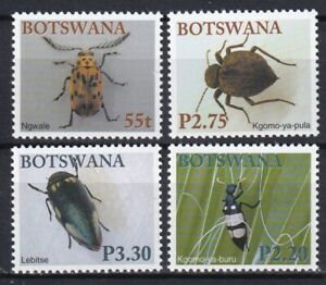 Botswana 2003 Insects 4 MNH stamps