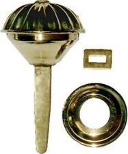 Spool Cabinet Knob - Brass-B-0336
