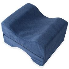 Knee Pillow Memory Foam Orthopedic Contour Knee Relief Home Health Tool New