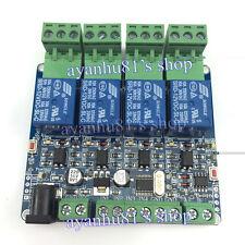 Modbus RTU 4 Way Relay Module DIY STM8S103 System 4 Road Input 485 Communication