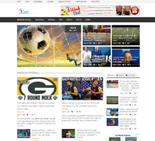 Top Daily Sports News Website Script - Wordpress, Free Hosting For 1 Month