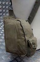 Genuine Vintage US Army MSA M17 Gas Bag Side Bag / Hip Bag USGI Vietnam