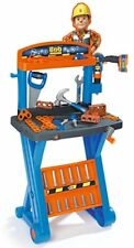 Smoby Bob The Builder 1st Workbench & Mechanical Drill & TOOLS  NEW OTHER