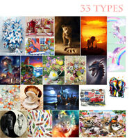 33 Types Landscape Flowers 5D Diamond Painting DIY Cross Stitch Embroidery Ygf3